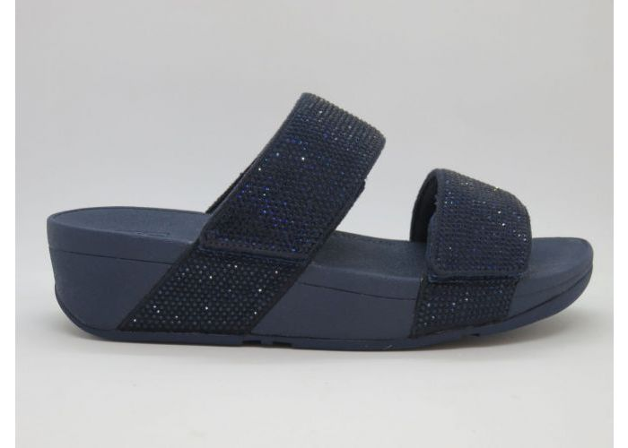 Fitflop 16195 Slipper / 2 klevers Blauw