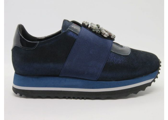 Nathan-baume 13708 Mocassin Blauw