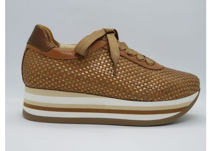 Damesschoenen Softwaves Sneaker 7.78.13 Cognac