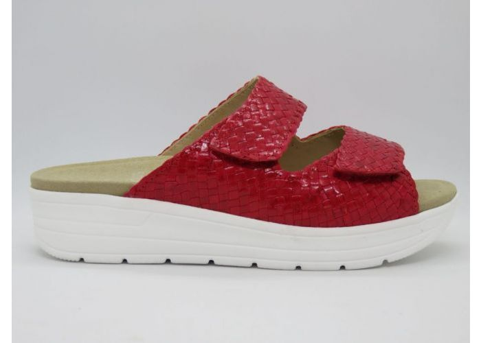 Solidus 16222 Slipper / 2 klevers Rood