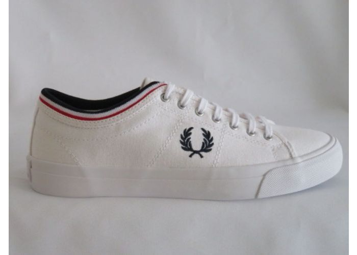 Herenschoenen Fred Perry Veterschoen B5210 Wit